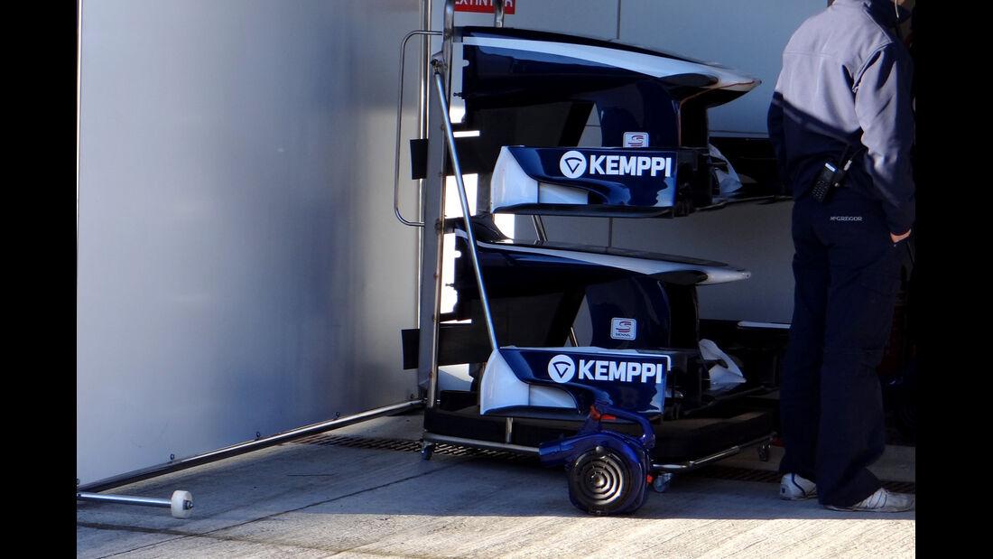 Williams - Formel 1 - Test - Jerez - 7. Februar 2013