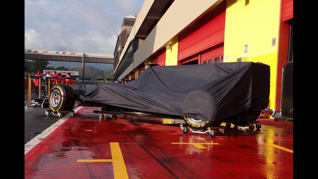 Williams - Formel 1-Test - Mugello - 1. Mai 2012