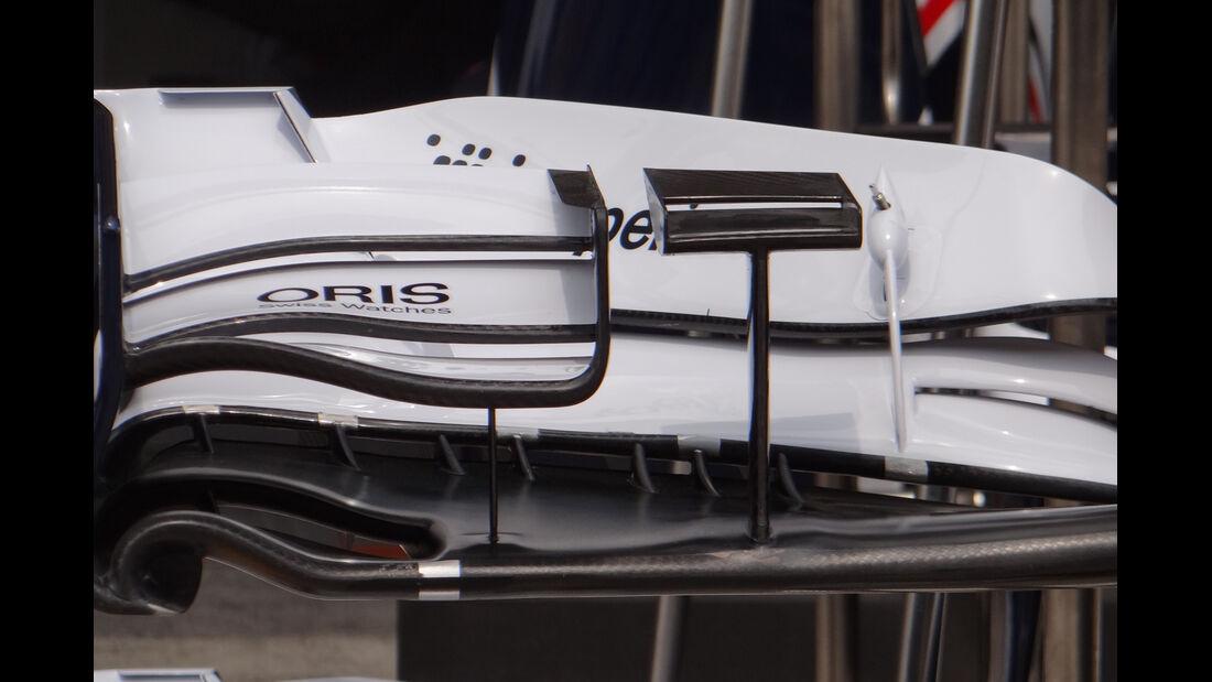 Williams Frontflügel - Formel 1 - GP China - 11. April 2013