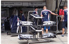 Williams Frontflügel - Formel 1 - GP China - 11. April 2013