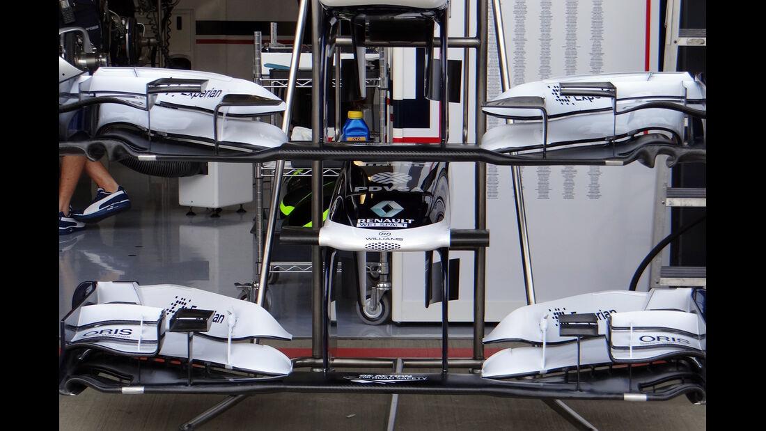 Williams Frontflügel - Formel 1 - GP England - 27. Juni 2013