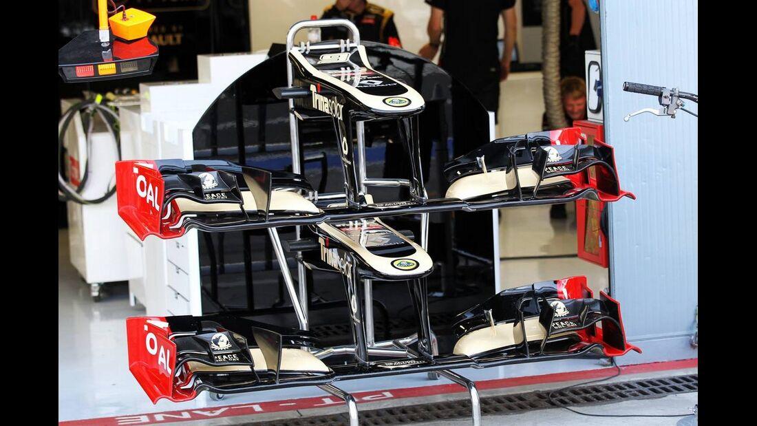 Williams Frontflügel - Formel 1 - GP Italien - 08. September 2012