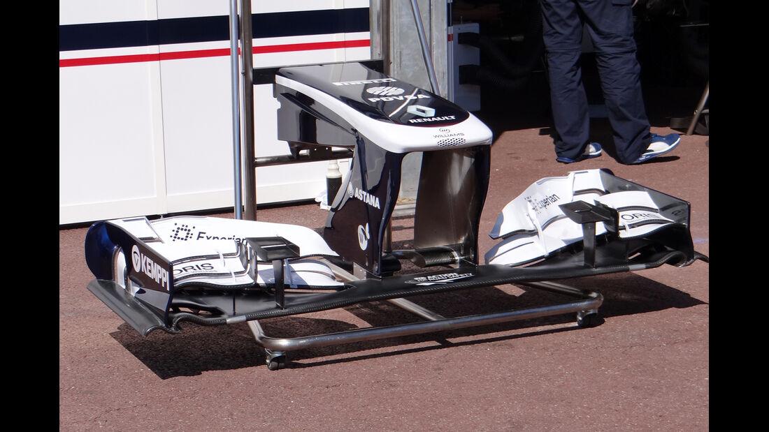 Williams Frontflügel - Formel 1 - GP Monaco - 22. Mai 2013