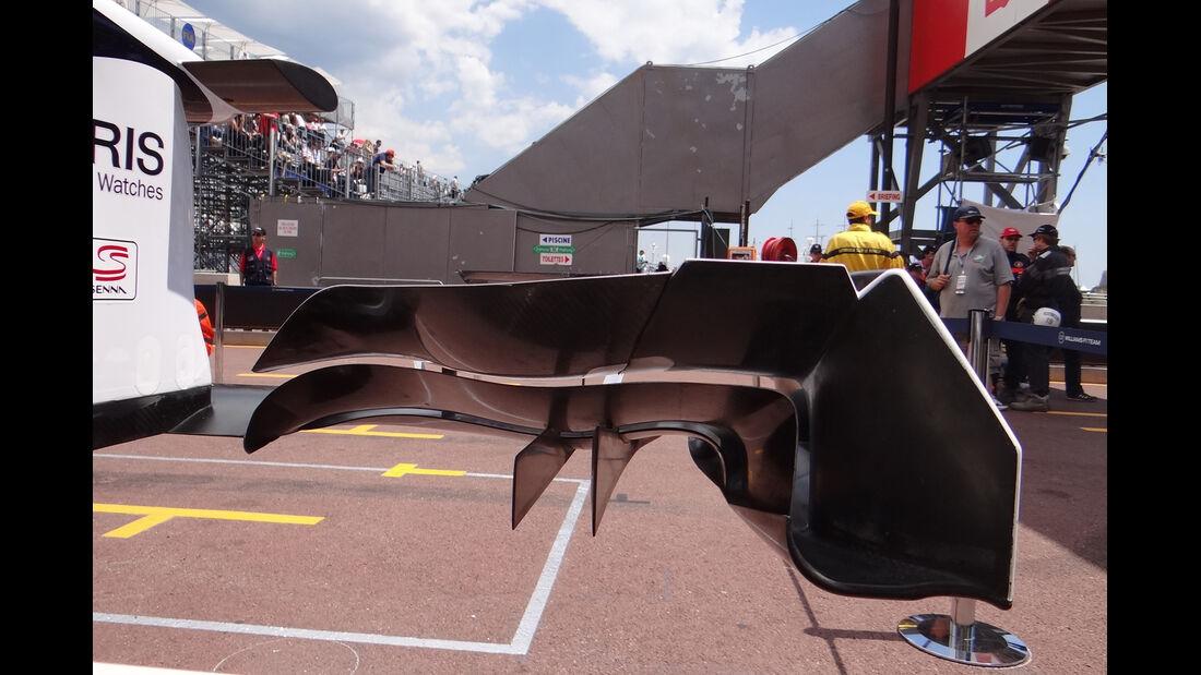 Williams-Frontflügel - Formel 1 - GP Monaco - 24. Mai 2012