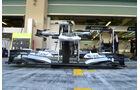 Williams-Frontflügel - GP Abu Dhabi - 10. November 2011