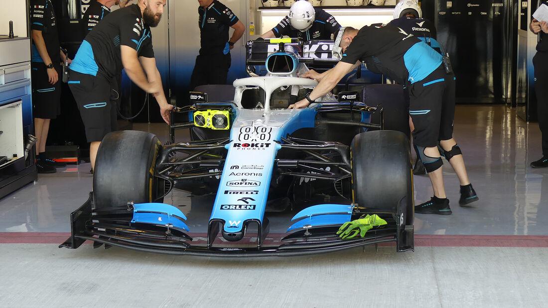 Williams - GP Abu Dhabi - Formel 1 - Freitag - 29.11.2019