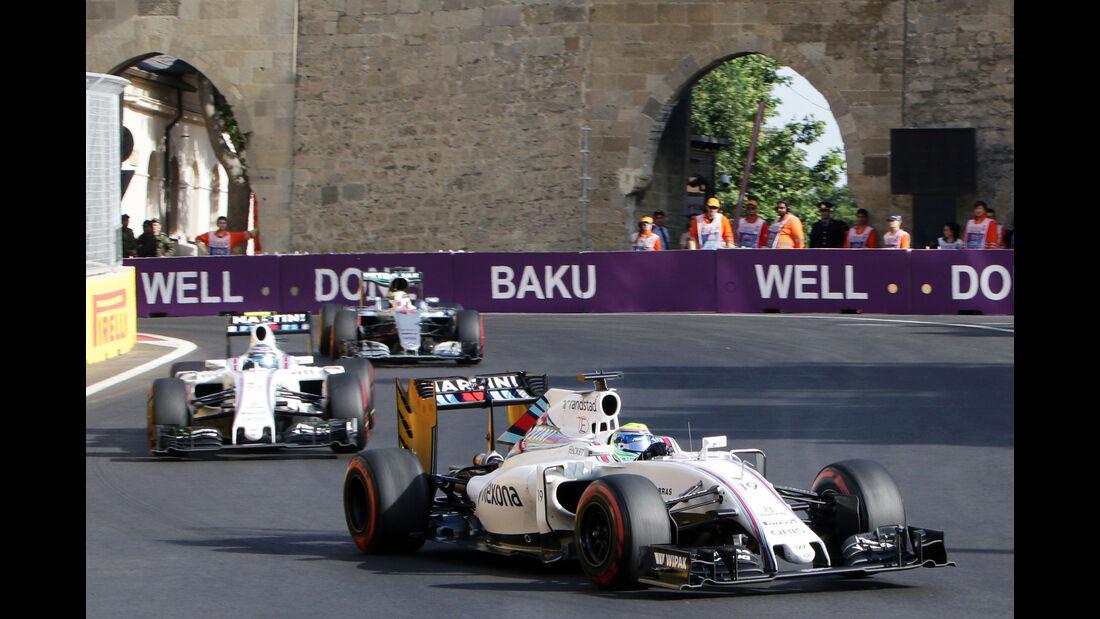 Williams - GP Aserbaidschan 2016