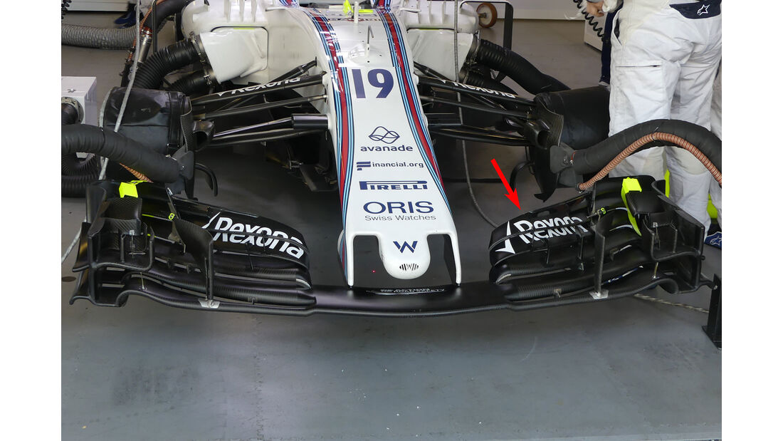 Williams - GP Aserbaidschan 2017 - Baku - Technik-Updates