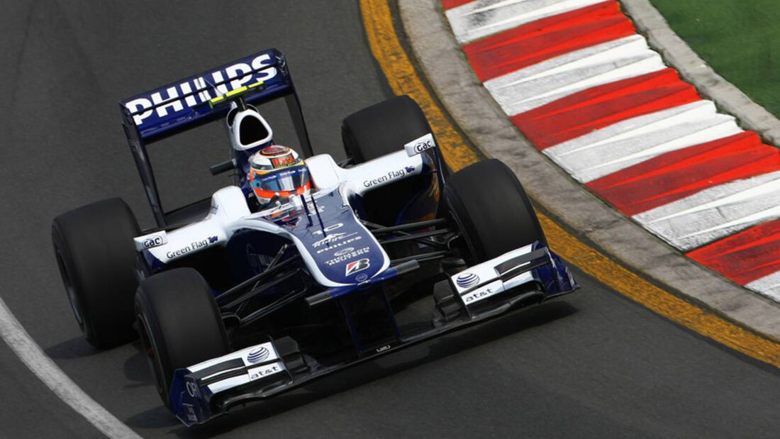 Williams GP Australien 2010