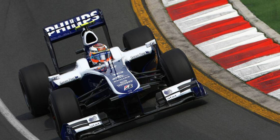 Williams GP Australien 2010