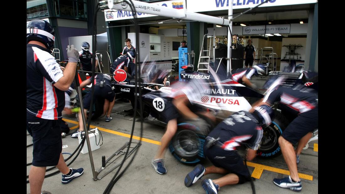 Williams GP Australien 2012
