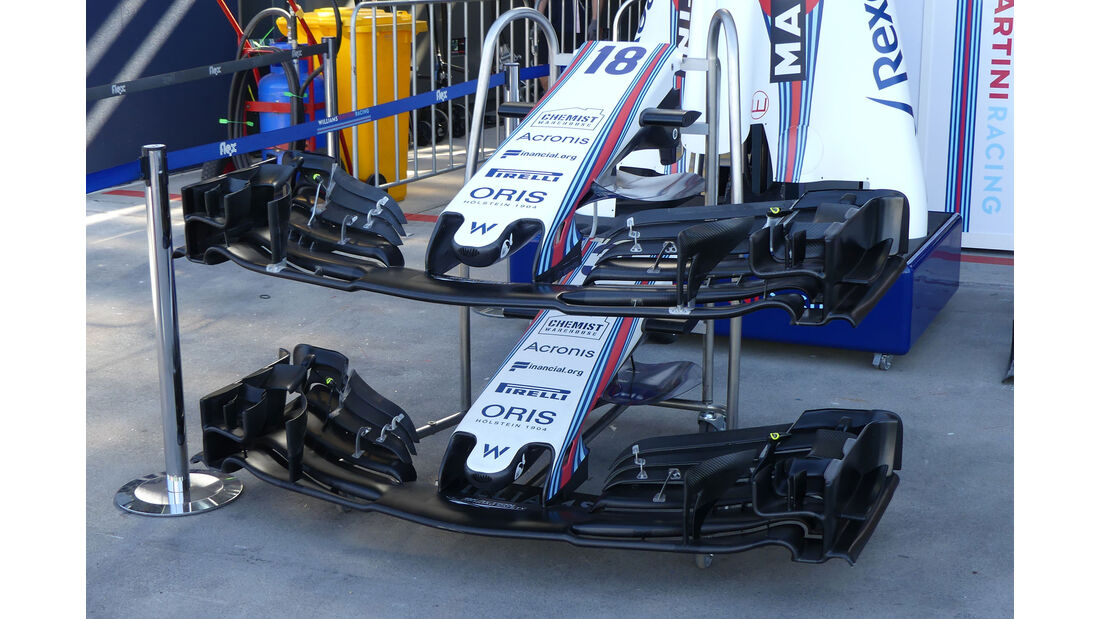 Williams - GP Australien 2018 - Melbourne - Albert Park - Donnerstag - 22.3.2018
