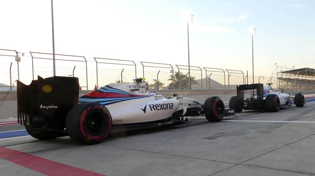 Williams - GP Bahrain 2016