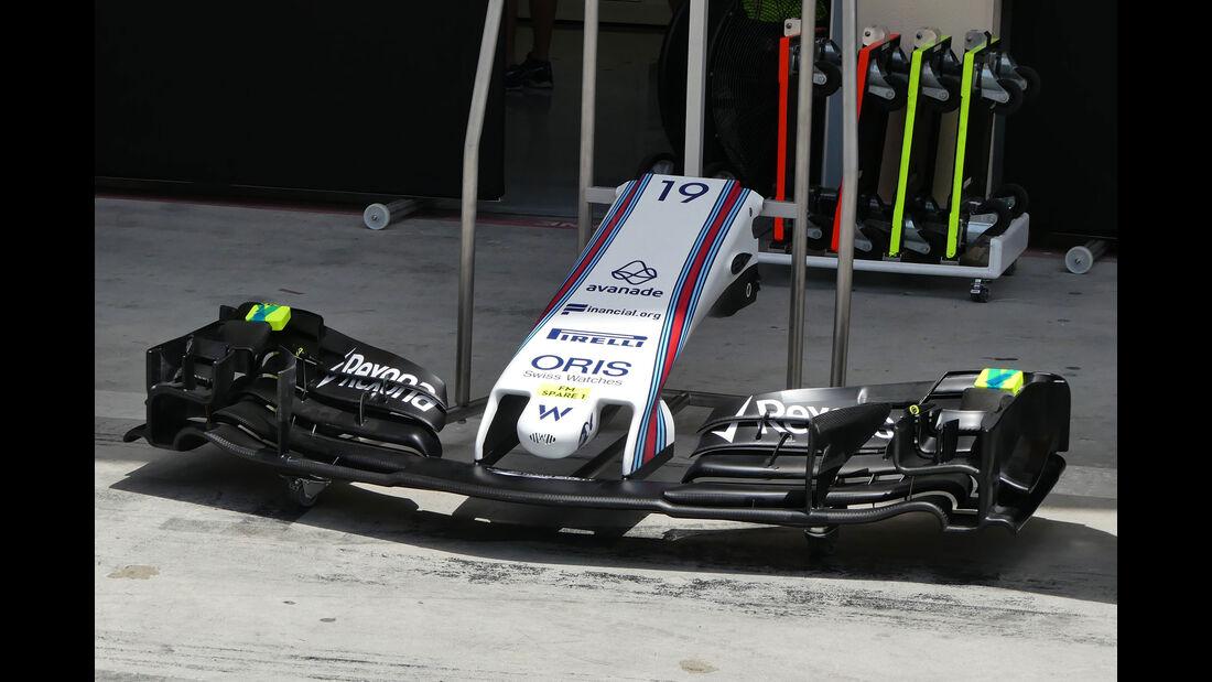 Williams - GP Bahrain - Sakhir - Mittwoch - 12.04.2017