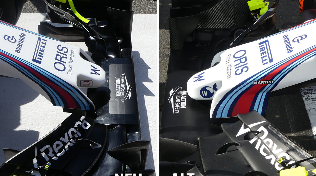 Williams - GP Bahrain - Technik-Update - 2016
