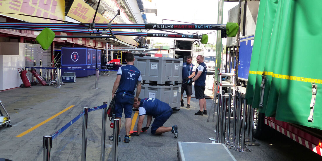Williams - GP Barcelona - Formel 1 - Mittwoch - 6.5.2015
