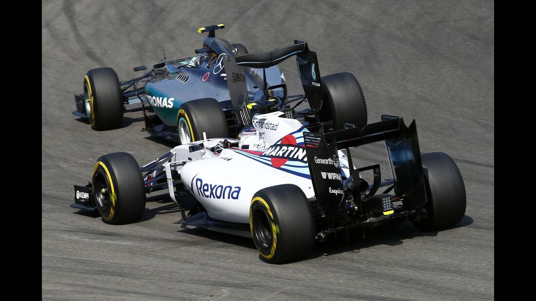 Williams - GP Belgien 2015