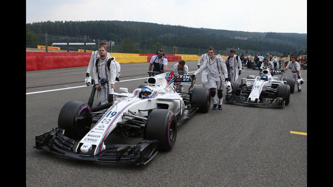 Williams - GP Belgien 2017