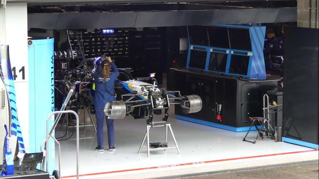 Williams - GP Belgien - Spa-Francorchamps - 26. August 2021