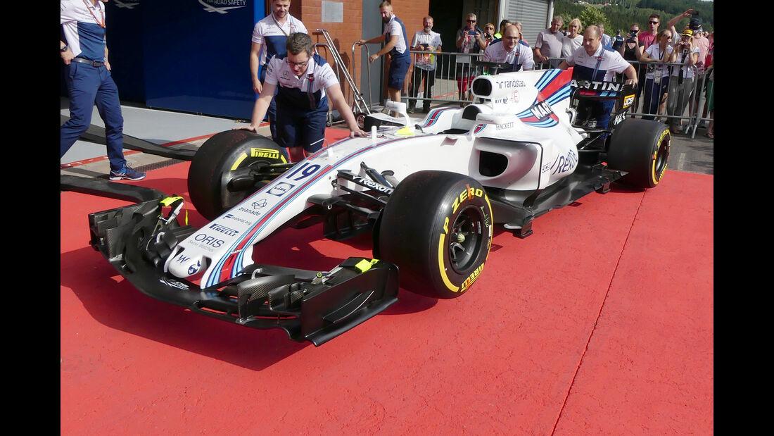 Williams - GP Belgien - Spa-Francorchamps - Formel 1 - 24. August 2017