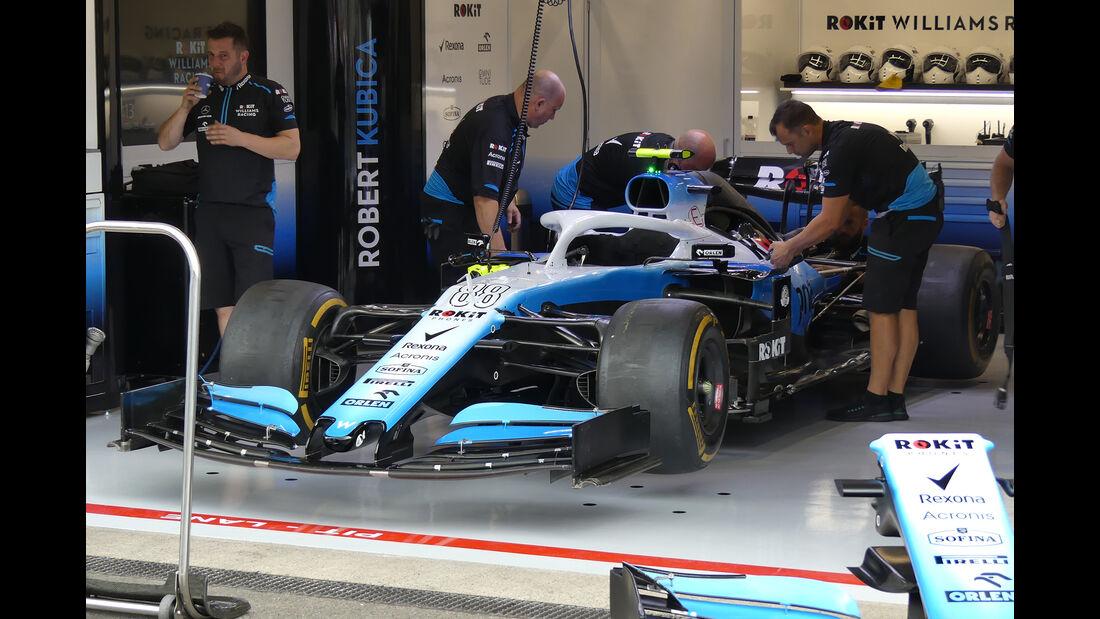 Williams - GP Belgien - Spa-Francorchamps - Formel 1 - Donnerstag - 29.8.2019