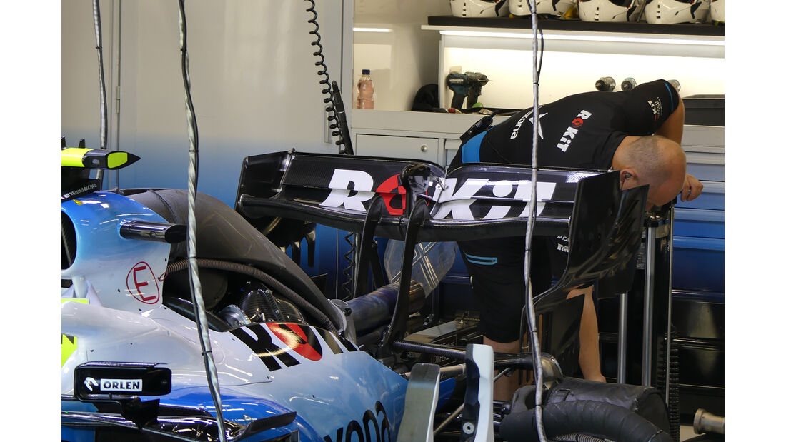 Williams - GP Belgien - Spa-Francorchamps - Formel 1 - Freitag - 30.08.2019