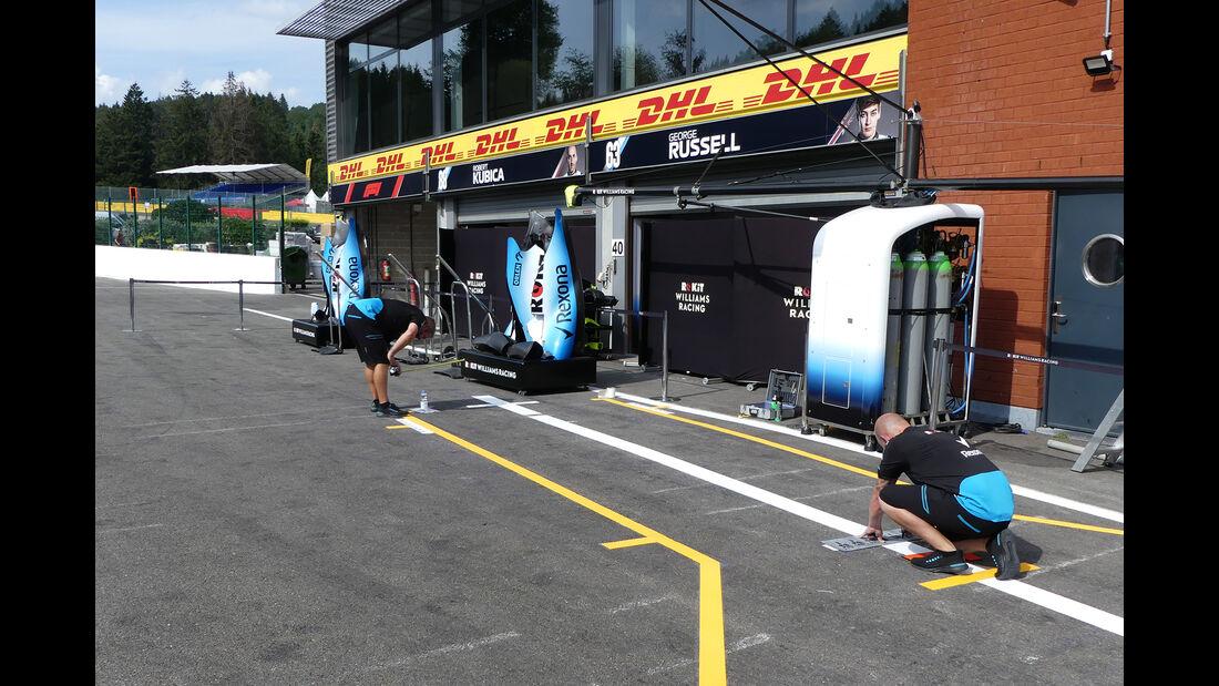 Williams - GP Belgien - Spa-Francorchamps - Formel 1 - Mittwoch - 28.8.2019