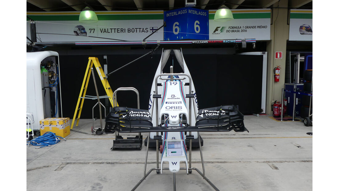 Williams - GP Brasilien 2016 - Sao Paulo - Interlagos - Mittwoch - 9.11.2016