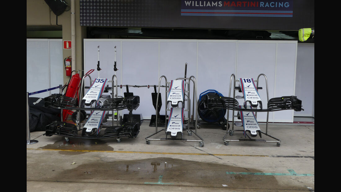 Williams - GP Brasilien - Interlagos - Formel 1 - Donnerstag - 8.11.2018
