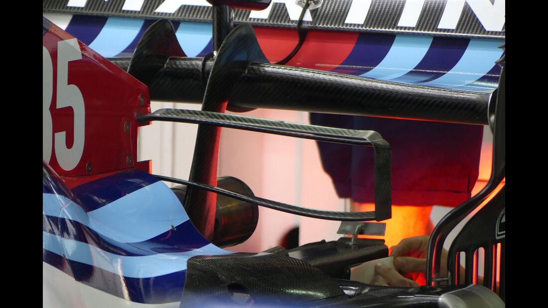 Williams - GP Brasilien - Interlagos - Formel 1 - Freitag - 9.11.2018