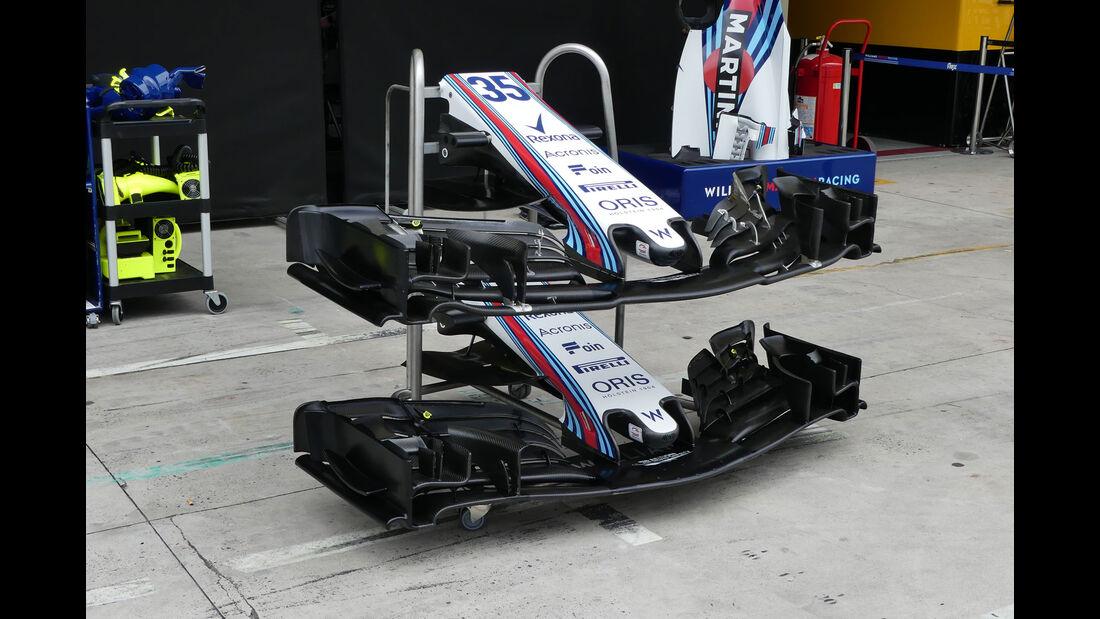 Williams - GP Brasilien - Interlagos - Formel 1 - Mittwoch - 7.11.2018