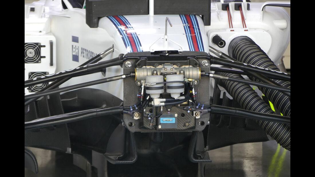 Williams - GP Brasilien - Interlagos - Freitag - 11.11.2016