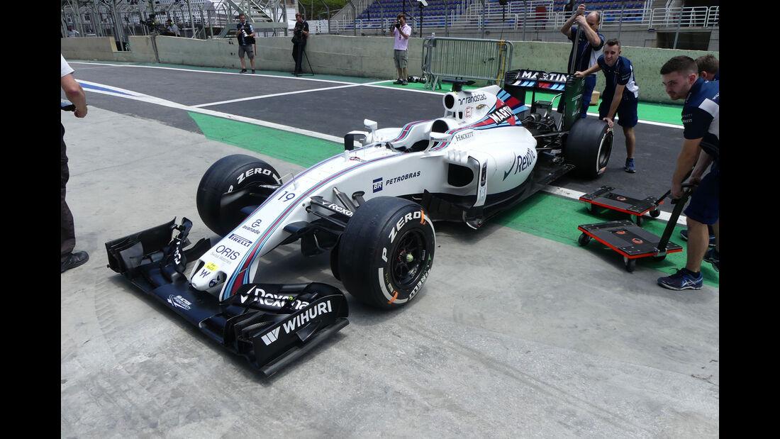 Williams - GP Brasilien - Sao Paulo - Interlagos - Donnerstag - 10.11.2016