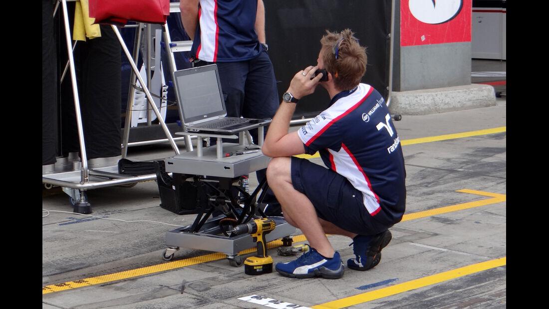 Williams - GP Deutschland - Nürburgring - 3. Juli 2013
