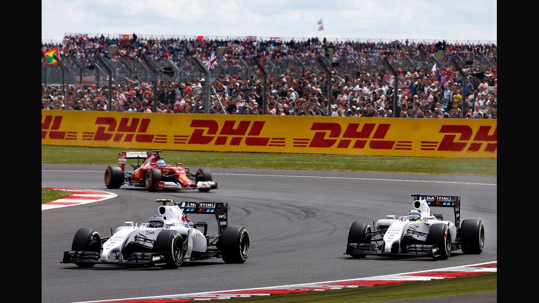 Williams - GP England 2014