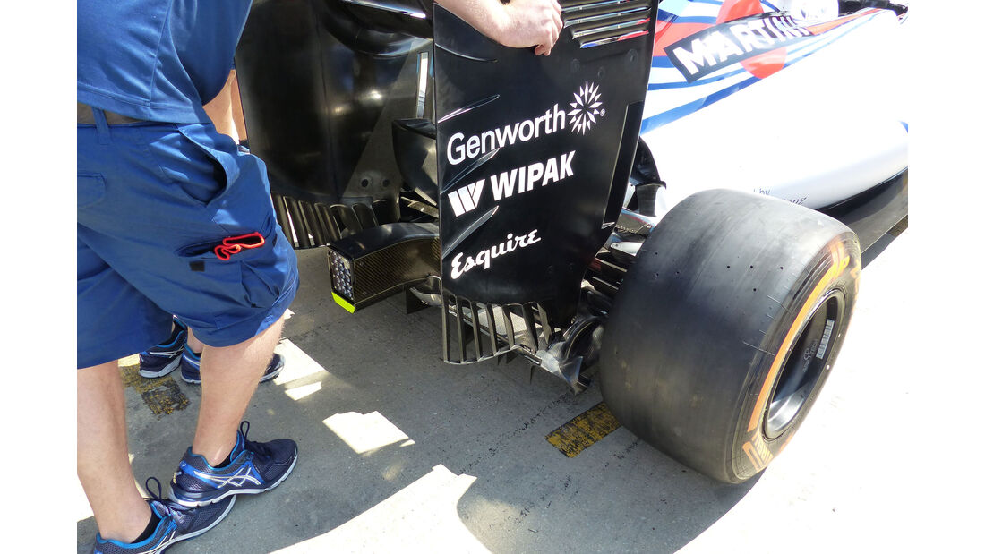 Williams - GP England - Silverstone - Donnerstag - 2.7.2015