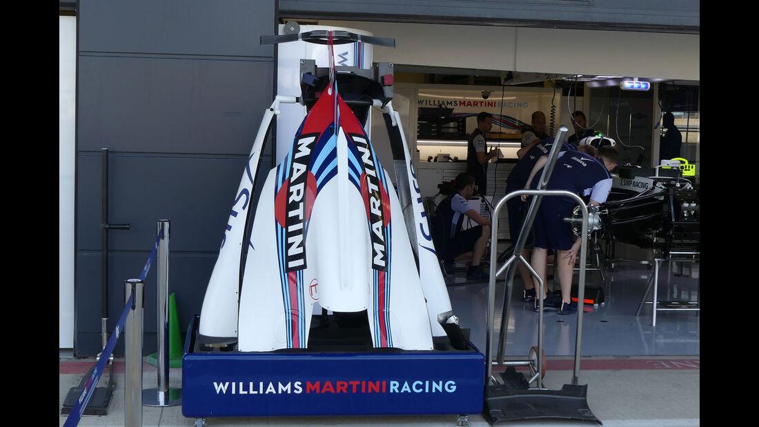 Williams - GP England - Silverstone - Formel 1 - Donnerstag - 5.7.2018