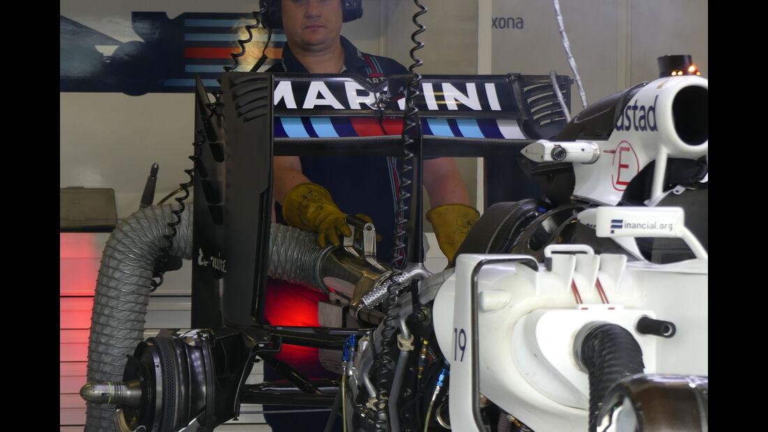 Williams - GP England - Silverstone - Formel 1 - Donnerstag - 7.7.2016
