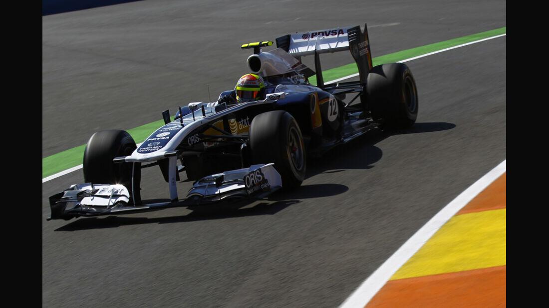 Williams  GP Europa Valencia 2011