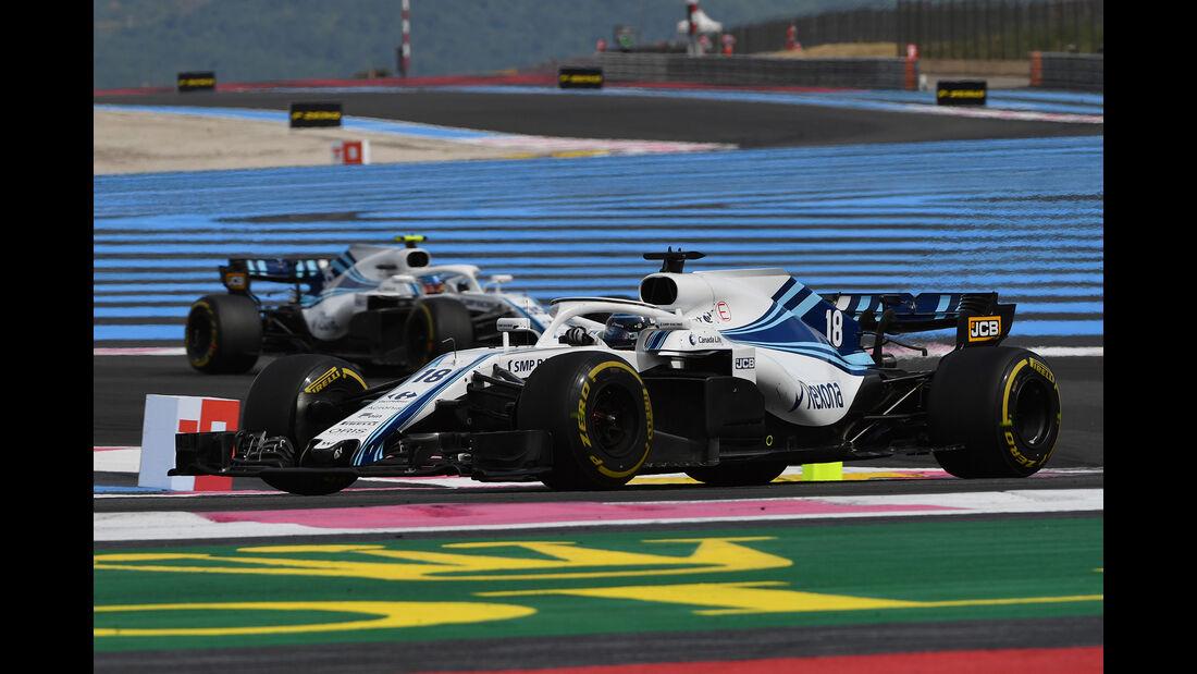 Williams - GP Frankreich 2018