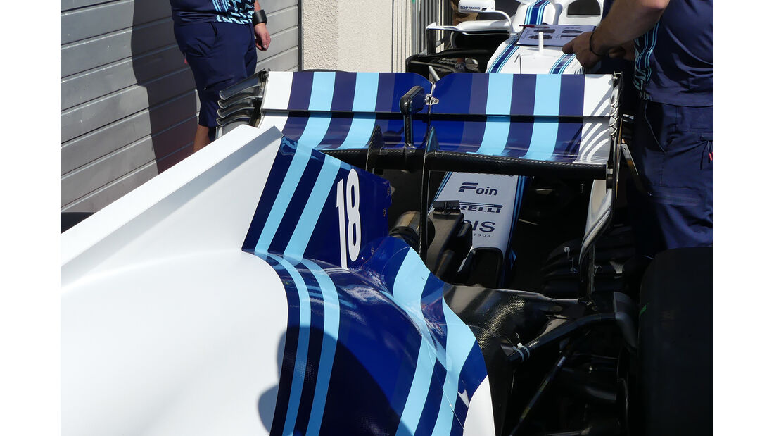 Williams - GP Frankreich - Paul Ricard - Formel 1 - 21. Juni 2018