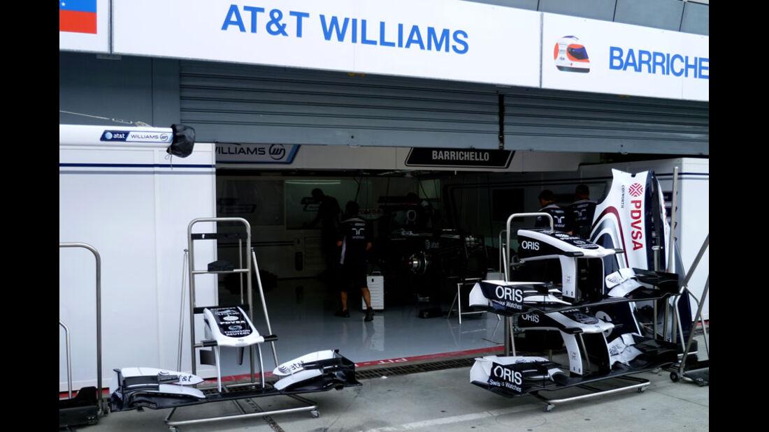 Williams - GP Italien - 8. September 2011
