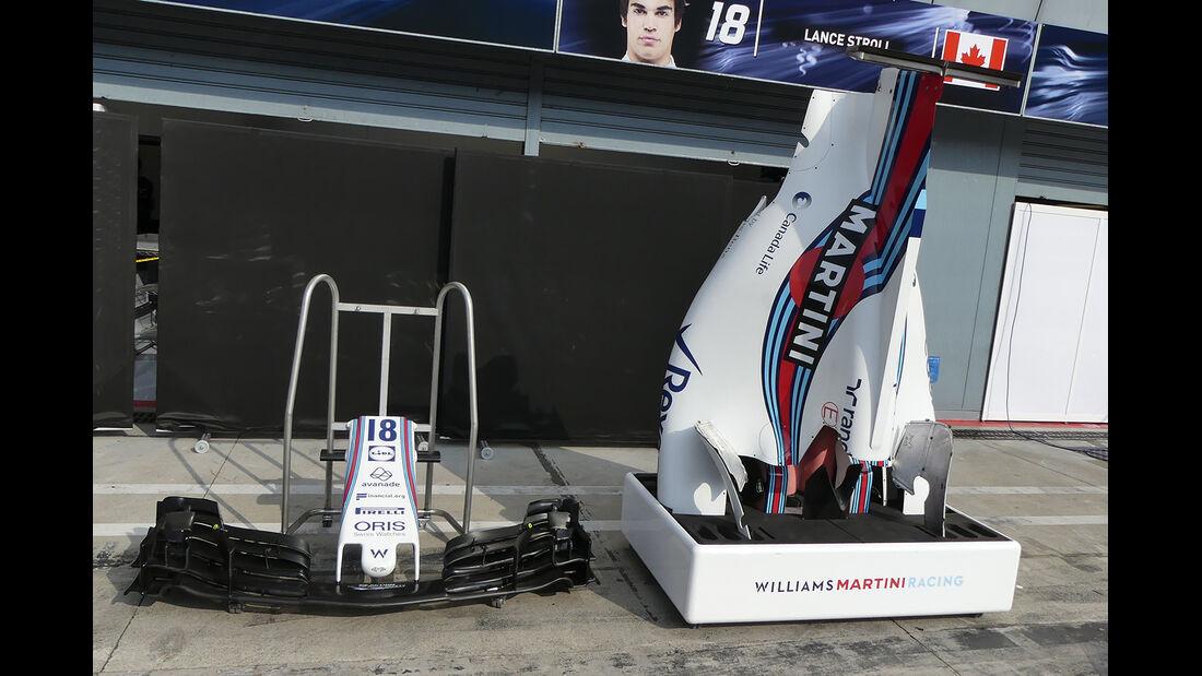 Williams  - GP Italien - Monza - Formel 1 - 30. August 2017