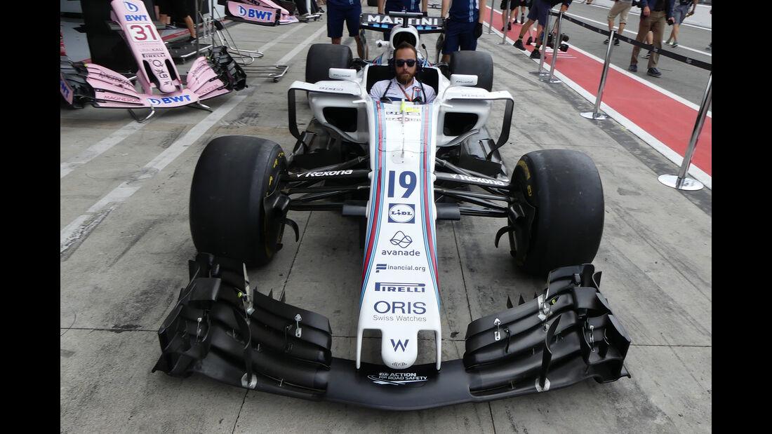 Williams - GP Italien - Monza - Formel 1 - 31. August 2017