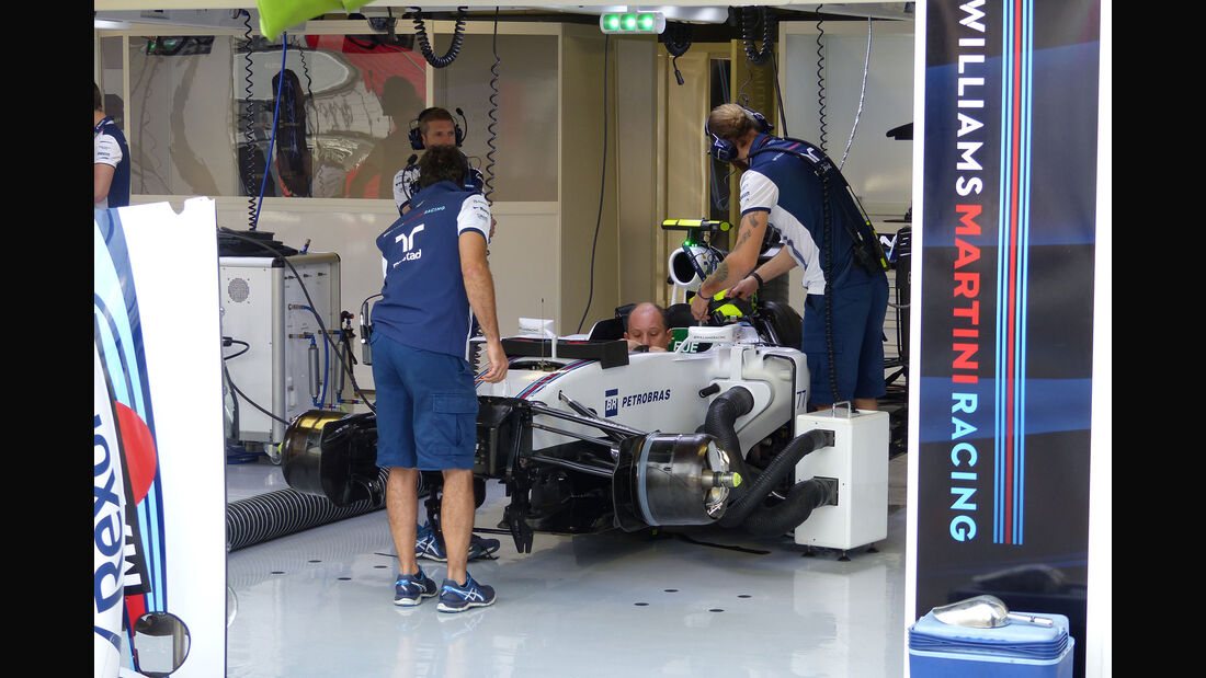 Williams - GP Italien - Monza - Freitag - 4.9.2015