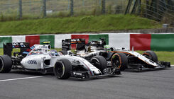 Force India vs. Williams