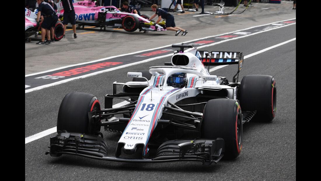 Williams - GP Japan 2018