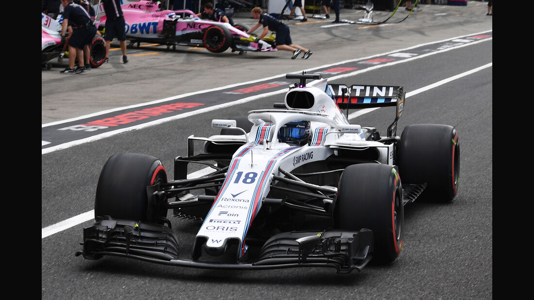 Williams - GP Japan 2018