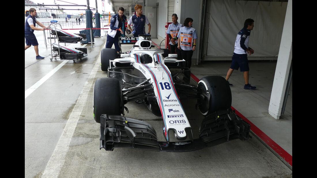Williams - GP Japan - Suzuka - Donnerstag - 4.10.2018