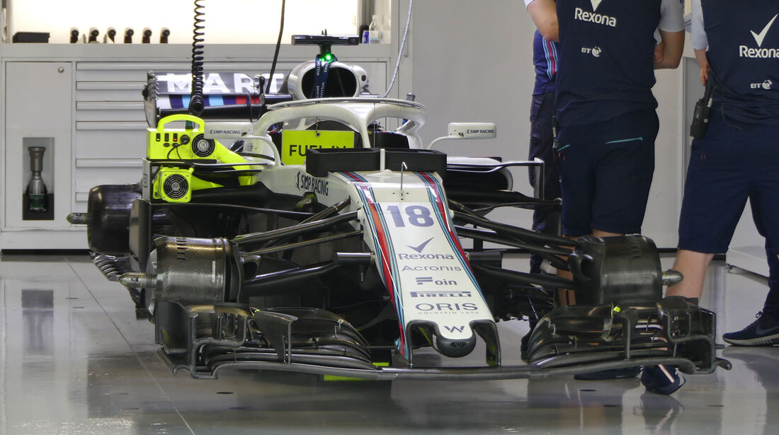 Williams - GP Japan - Suzuka - Formel 1 - Freitag - 5.10.2018